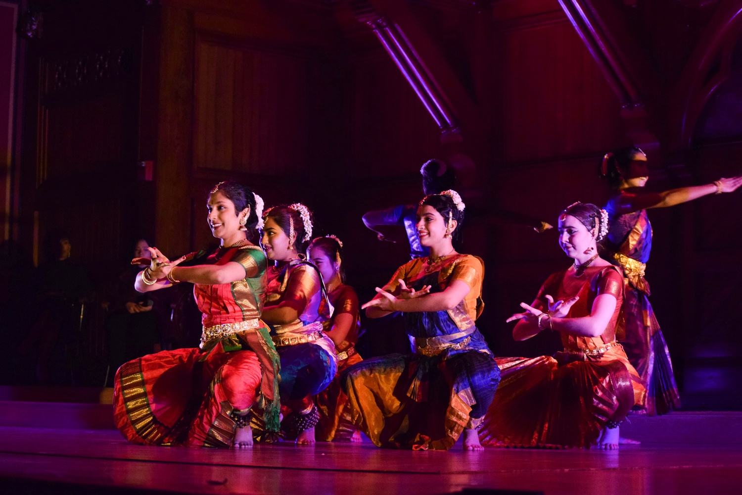 Harvard College Deepam, a classical Indian dance group, performed in the annual Cultural Rhythms show in Sanders Theatre Saturday evening.
