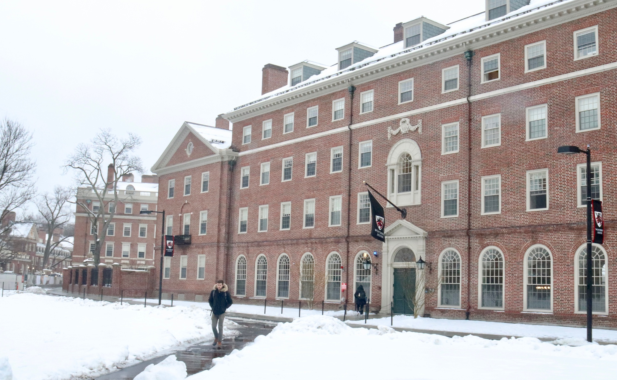 Winthrop in the Snow