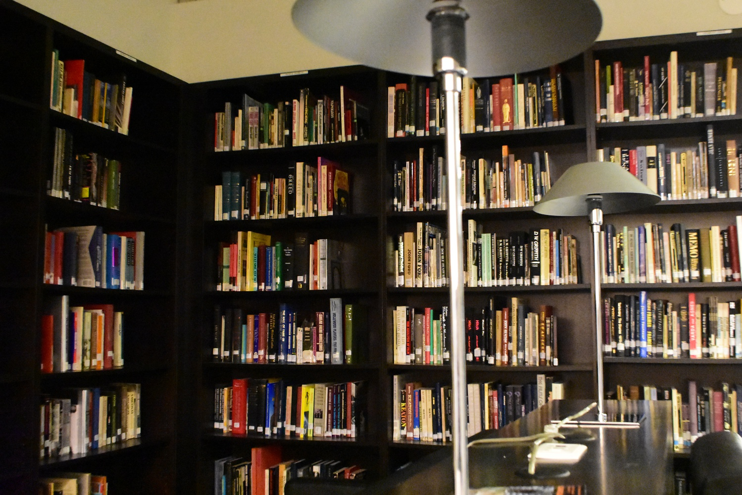 The Film Studies Library is part of the Department of Visual and Environmental Studies and is located on the fourth floor of Sever Hall.