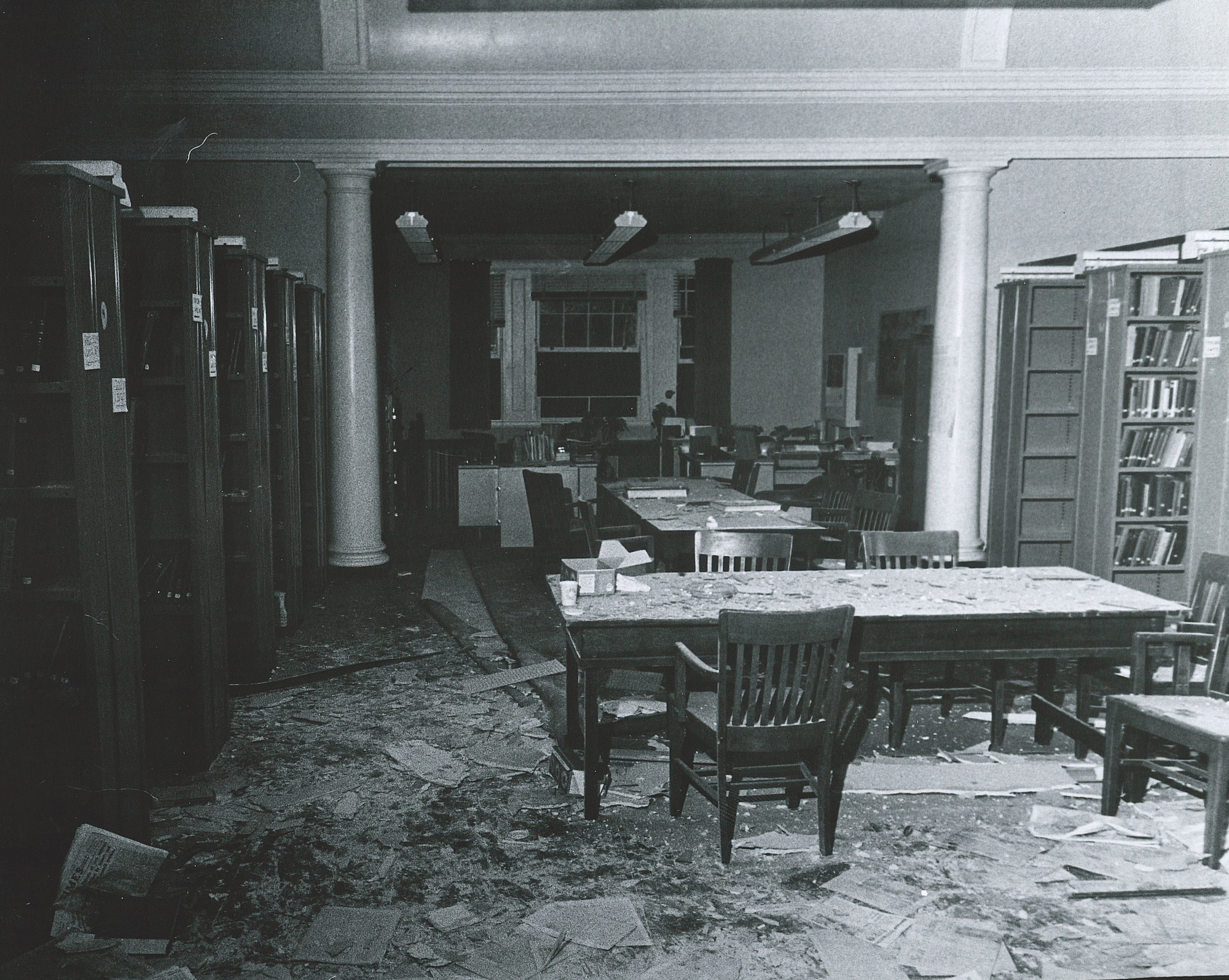 On October 14th, 1970, an explosion ripped through the third floor of the Harvard Semitic Museum, just north of Harvard Yard