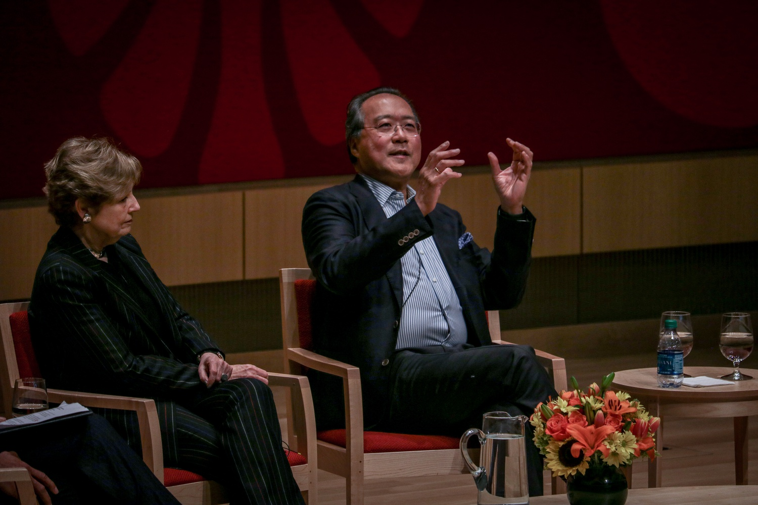 World-renowned cellist Yo-Yo Ma '76 and New York Philharmonic Orchestra President Deborah Borda discussed the role of art in driving social justice on Wednesday evening. At the talk, Ma promised that he will be devoting the rest of his life to social impact.