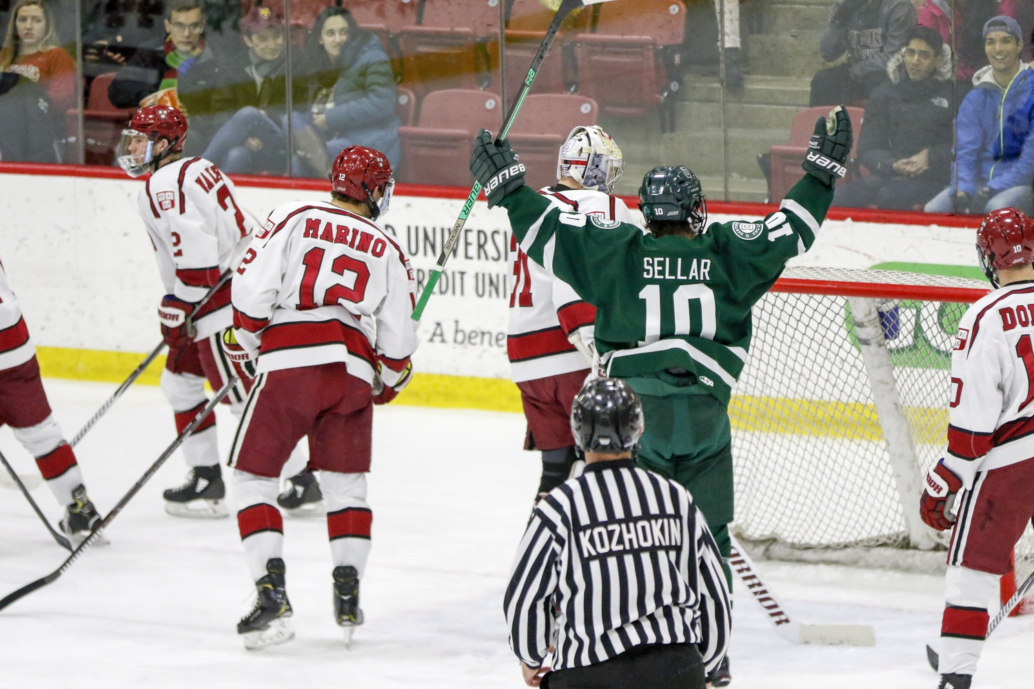In both regular season contests between these teams, Dartmouth has found the net first. Harvard will want to stifle the Big Green's run-and-gun offense, or risk a repeat of last year's Game 1 loss.