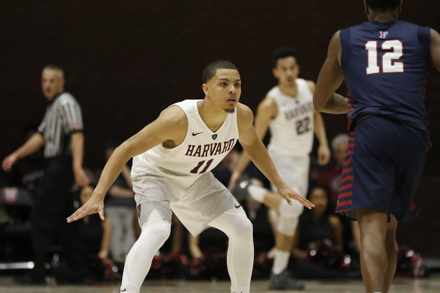 Bryce Aiken has averaged over 22 points per game against Penn, Princeton, and Yale this conference season.