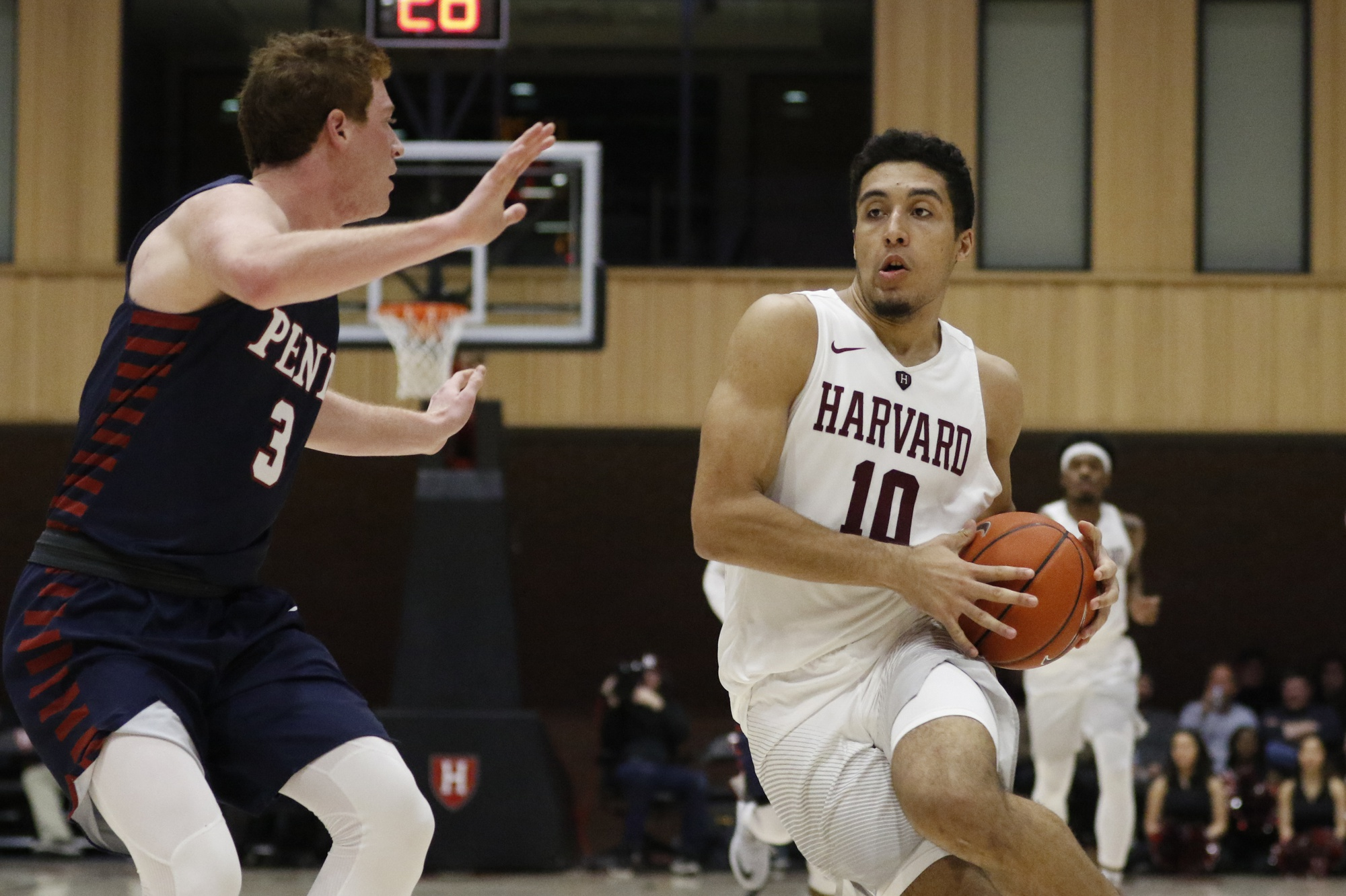 Noah Kirkwood was named Ivy League Rookie of the Year this past week.