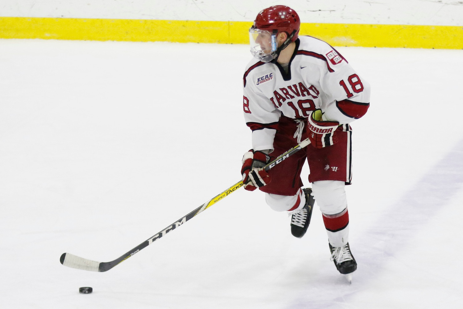 Defenseman Adam Fox is on the short list of college hockey's most elite players. This weekend, his pair of three-point outings showed why.