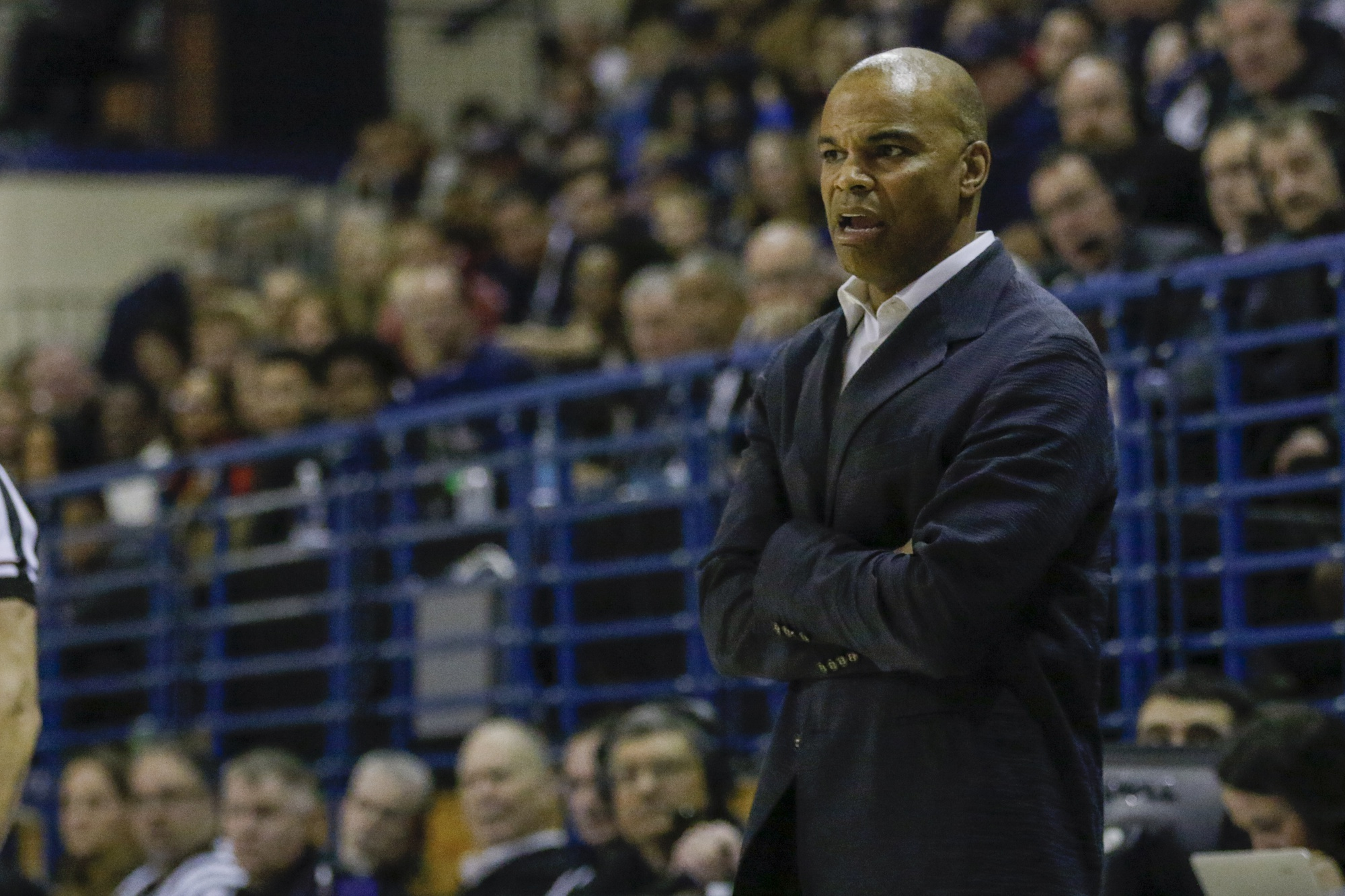 """Coach Amaker returns back to the """"DMV"""" to face Georgetown in the opening round of the NIT."""