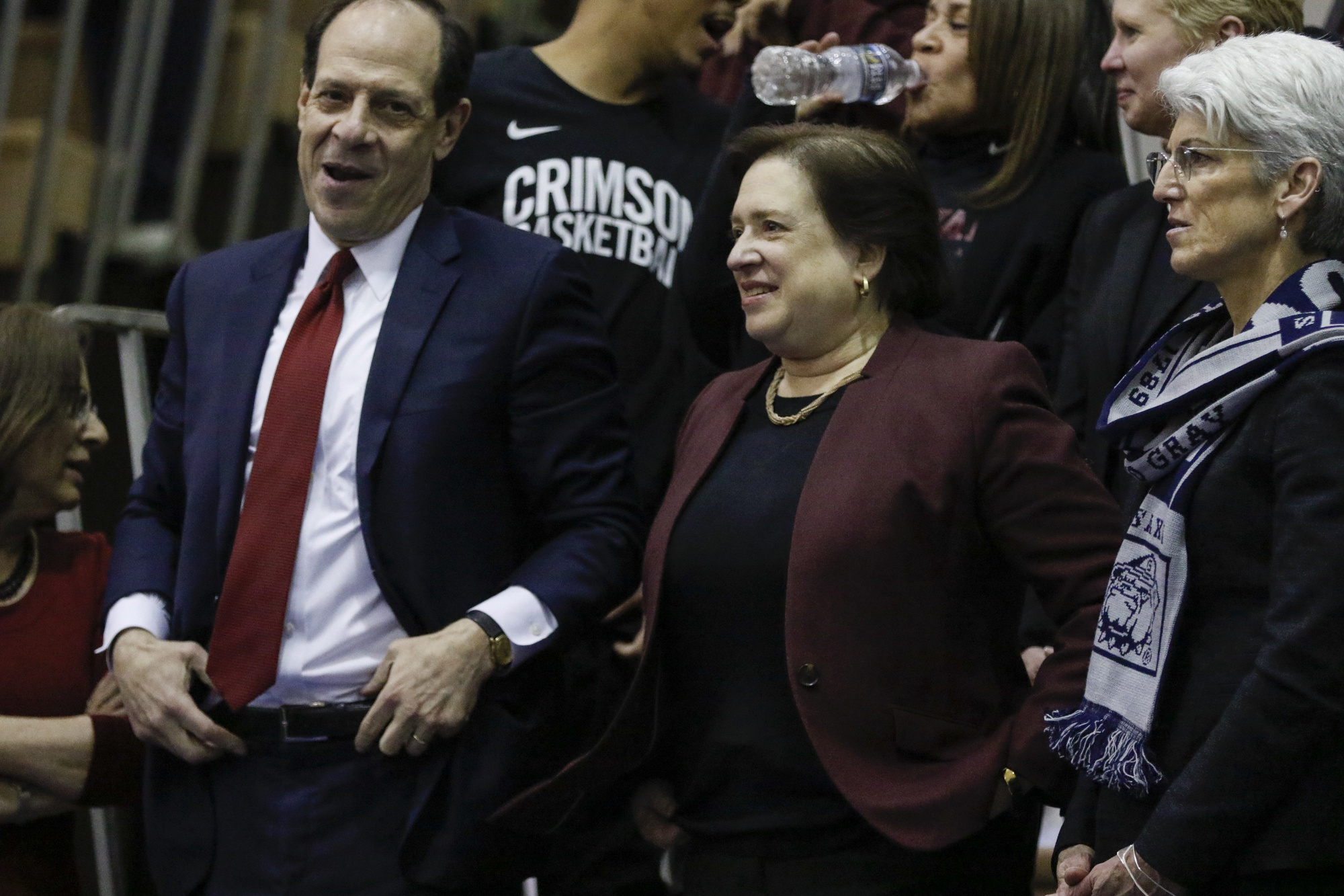 Supreme Court Justice Elena Kagan was in attendance at McDonough Arena on Wednesday night.