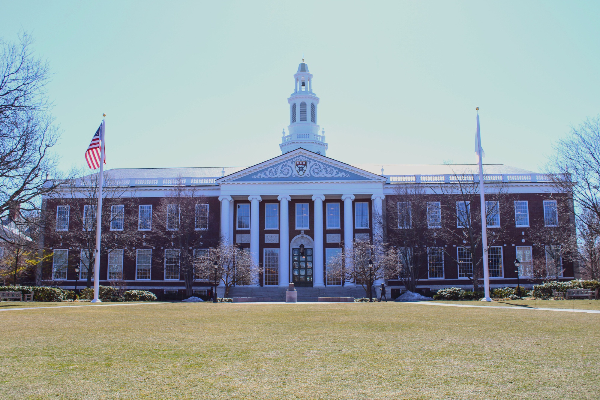 The Harvard Business School was one of two schools that the plaintiff of a federal lawsuit filed against Harvard applied to and was denied admission from.