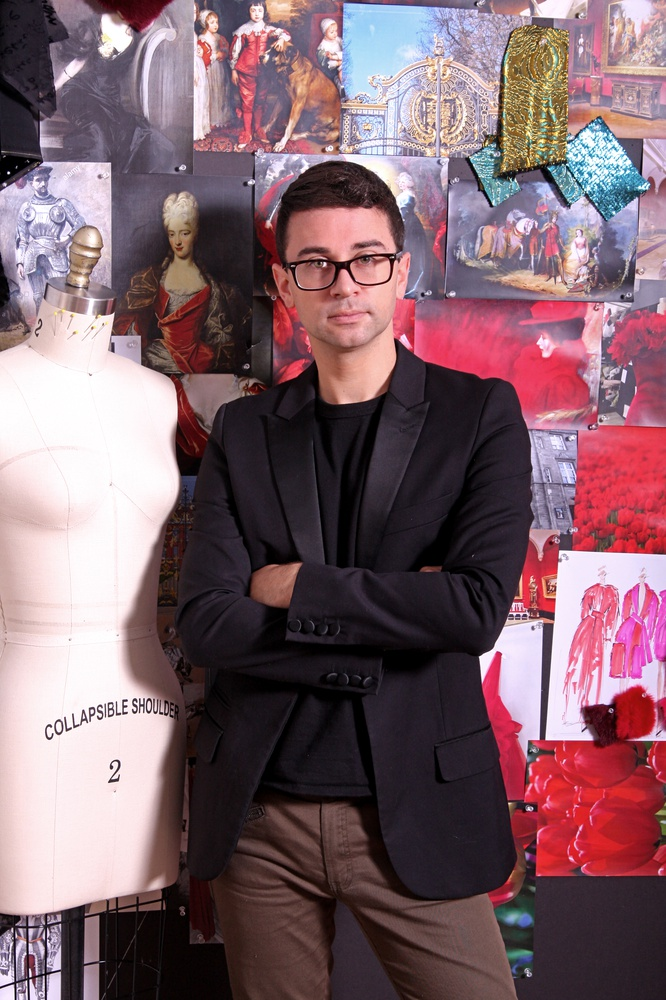 Christian Siriano is a fashion designer who won Season 4 of Project Runway.