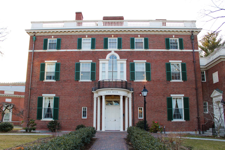 Loeb House in Harvard Yard where the Harvard Corporation meets.