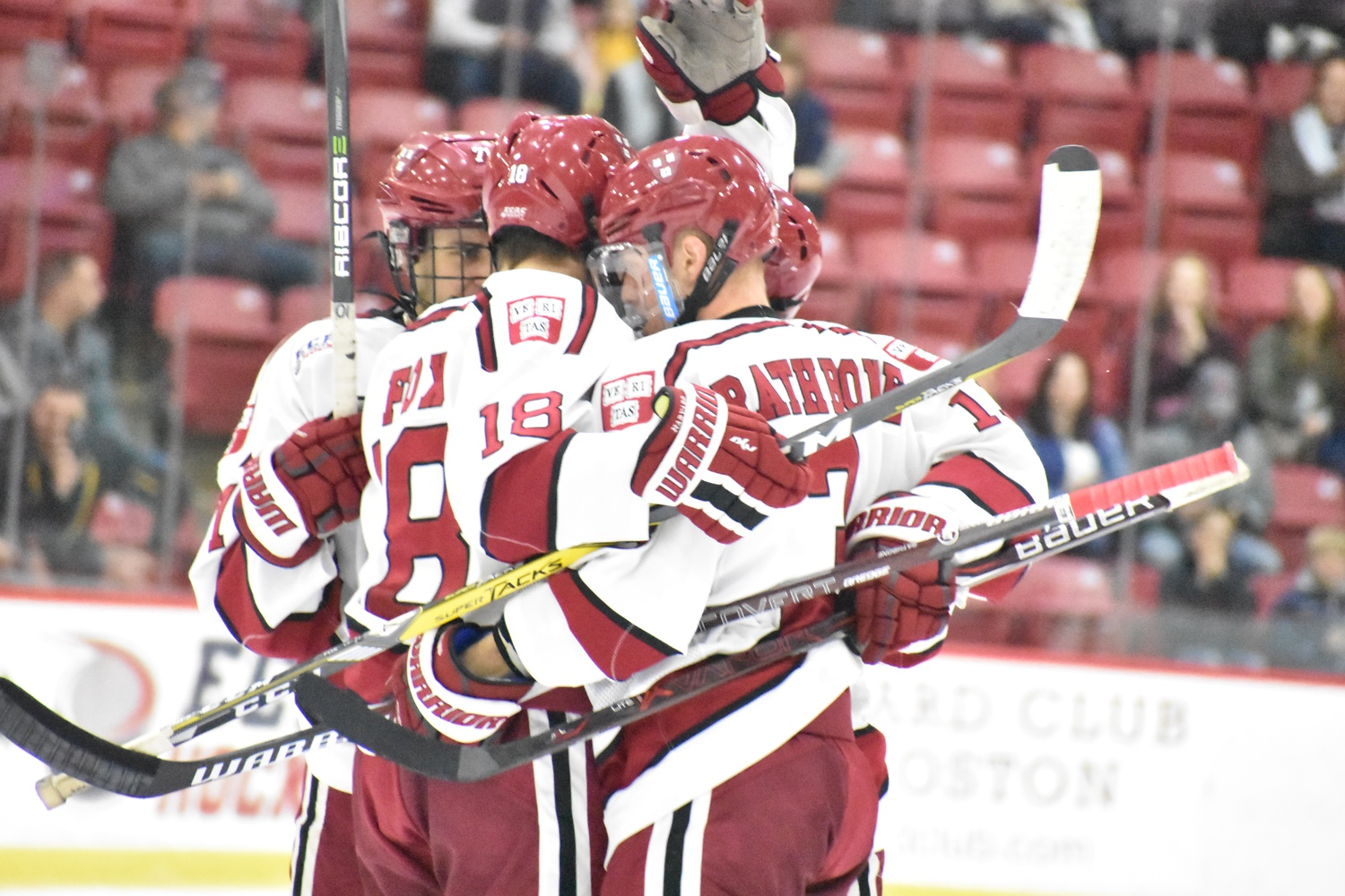 The Crimson's top-ranked power play (28.8%), a potent offensive weapon all season, faces the second-best man advantage unit (28.7%) in the Minutemen.