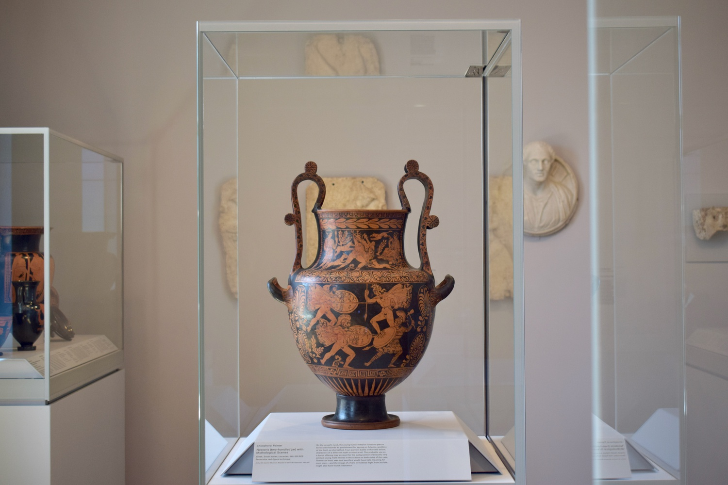 The Harvard Art Museum hosted a Sexy Vases Tour for Parents on March 15.