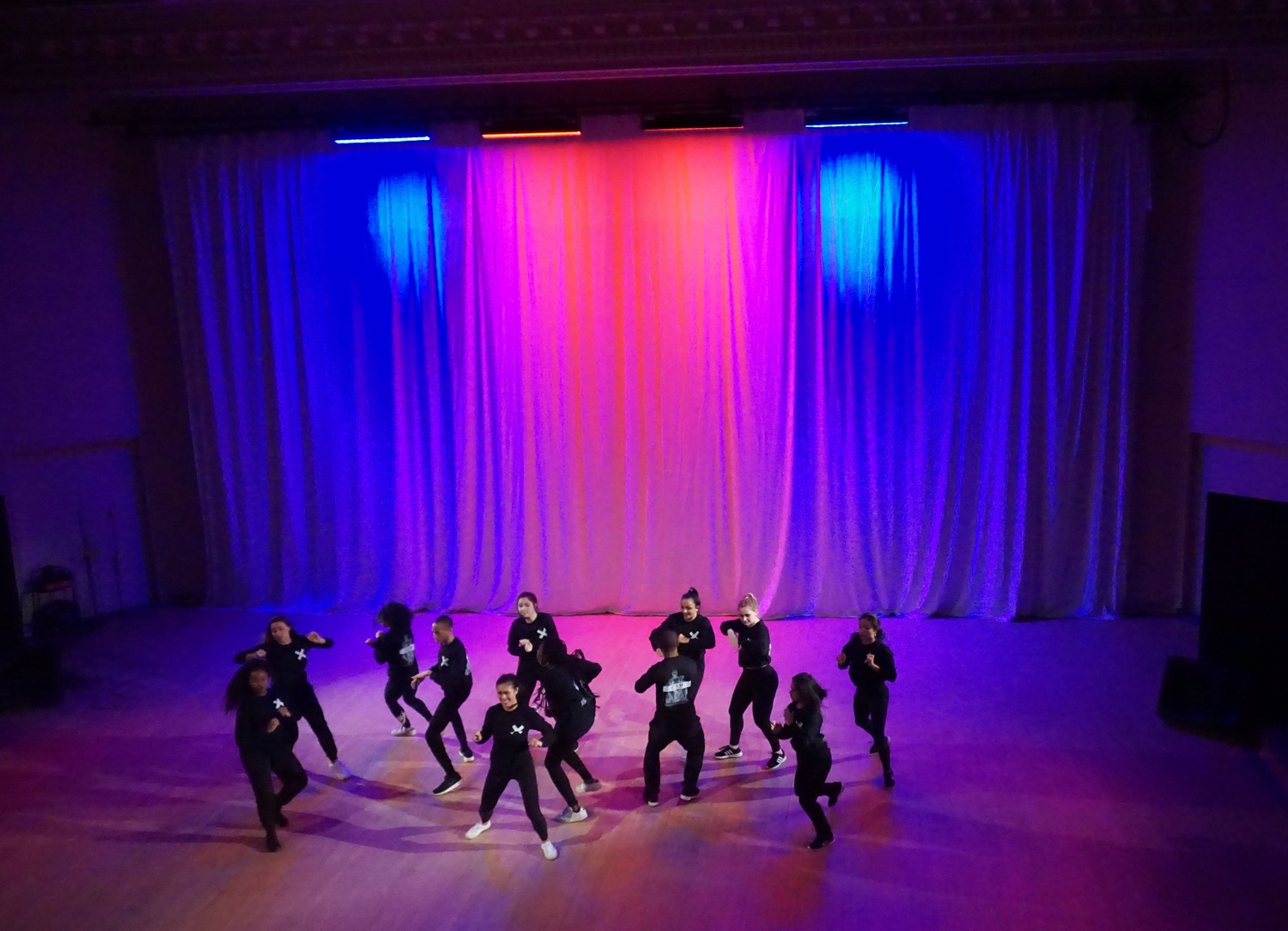 """Students performed in """"EXpelled,"""" the Spring show of Expressions Dance Company."""