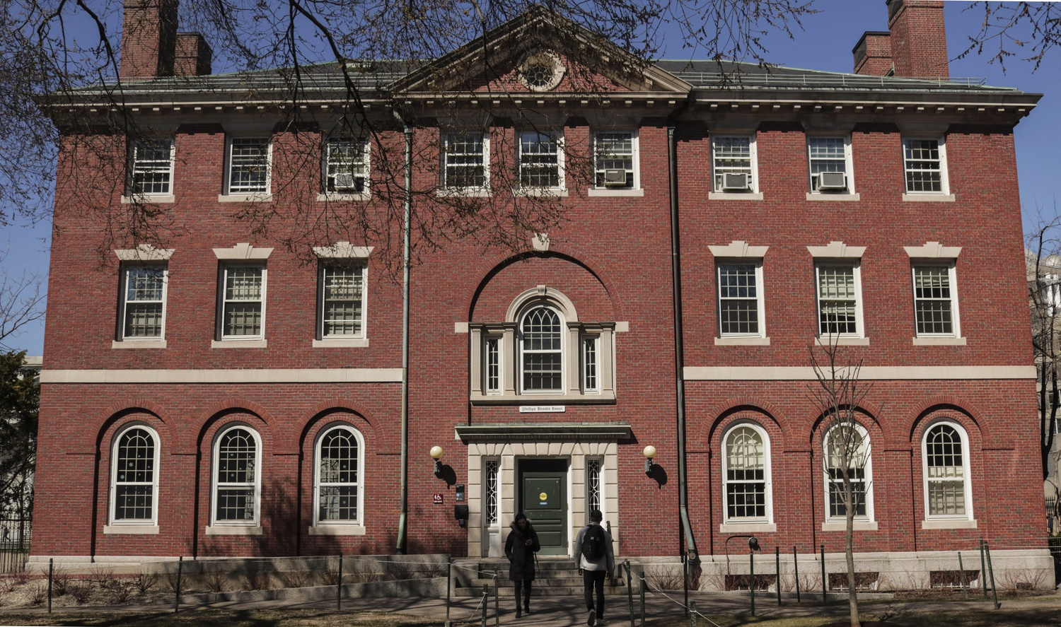 The Phillips Brooks House in Harvard Yard on Thursday afternoon. The building currently houses offices for the Center for Public Interest Careers, the Harvard Public Service Network, and the Phillips Brooks House Association.