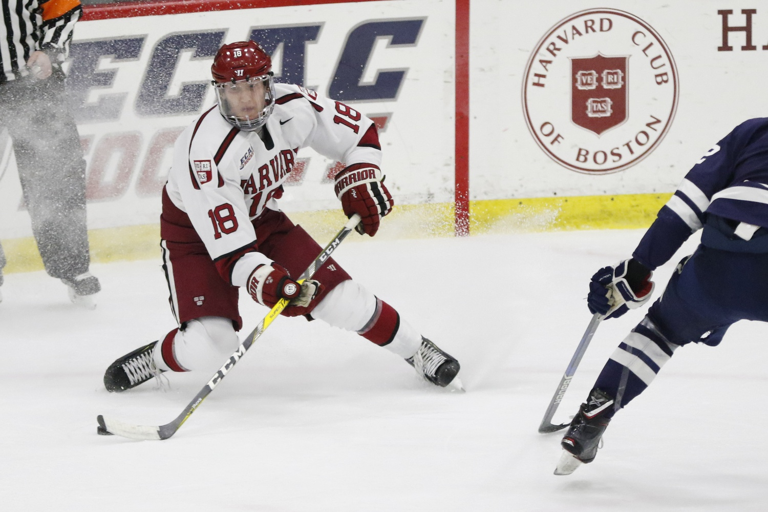 Assuming he returns for his senior season, Adam Fox will continue to set a bold on-ice example for a Crimson squad that promises to be offensively gifted under his leadership.