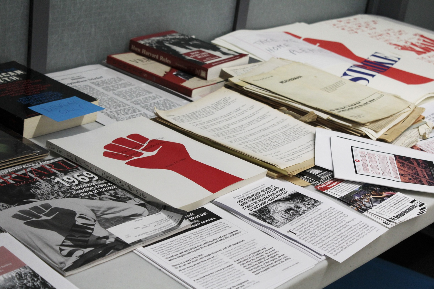 "This April marks the 50th anniversary of the Harvard strike of 1969, which the University commemorated in an event last week called ""The Strike of 1969, Protest at Harvard, and Organizing Today."""