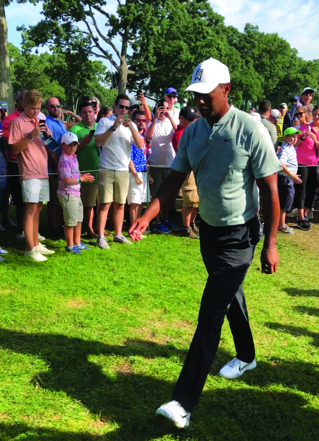 Woods' impressive performance at the Masters marks his first major championship since 2008.
