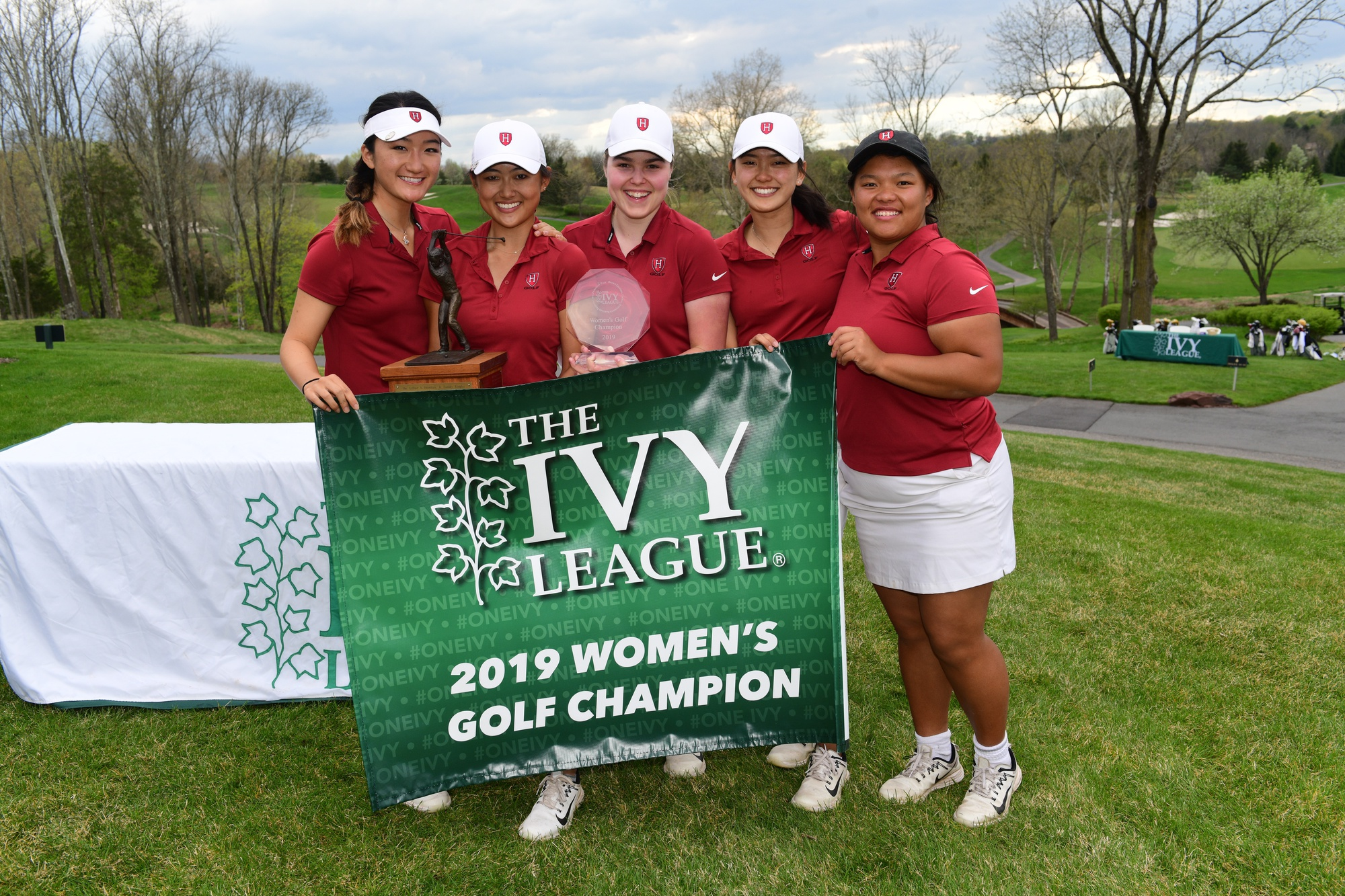 Women's golf leaves New Jersey decorated, as the team took home its sixth conference title in the last eight years.