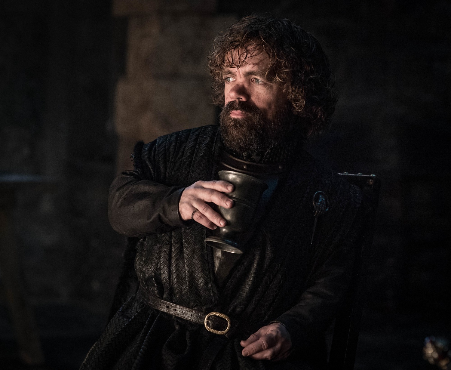 "Peter Dinklage as Tyrion Lannister in the latest episode of ""Game of Thrones."""