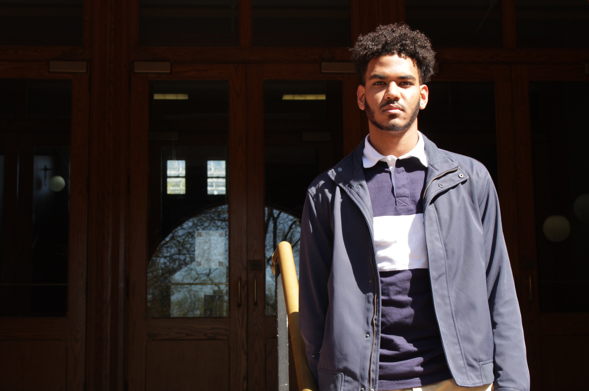 Ahmad S. M. Saaid '21 says he wasn't surprised by the coup.