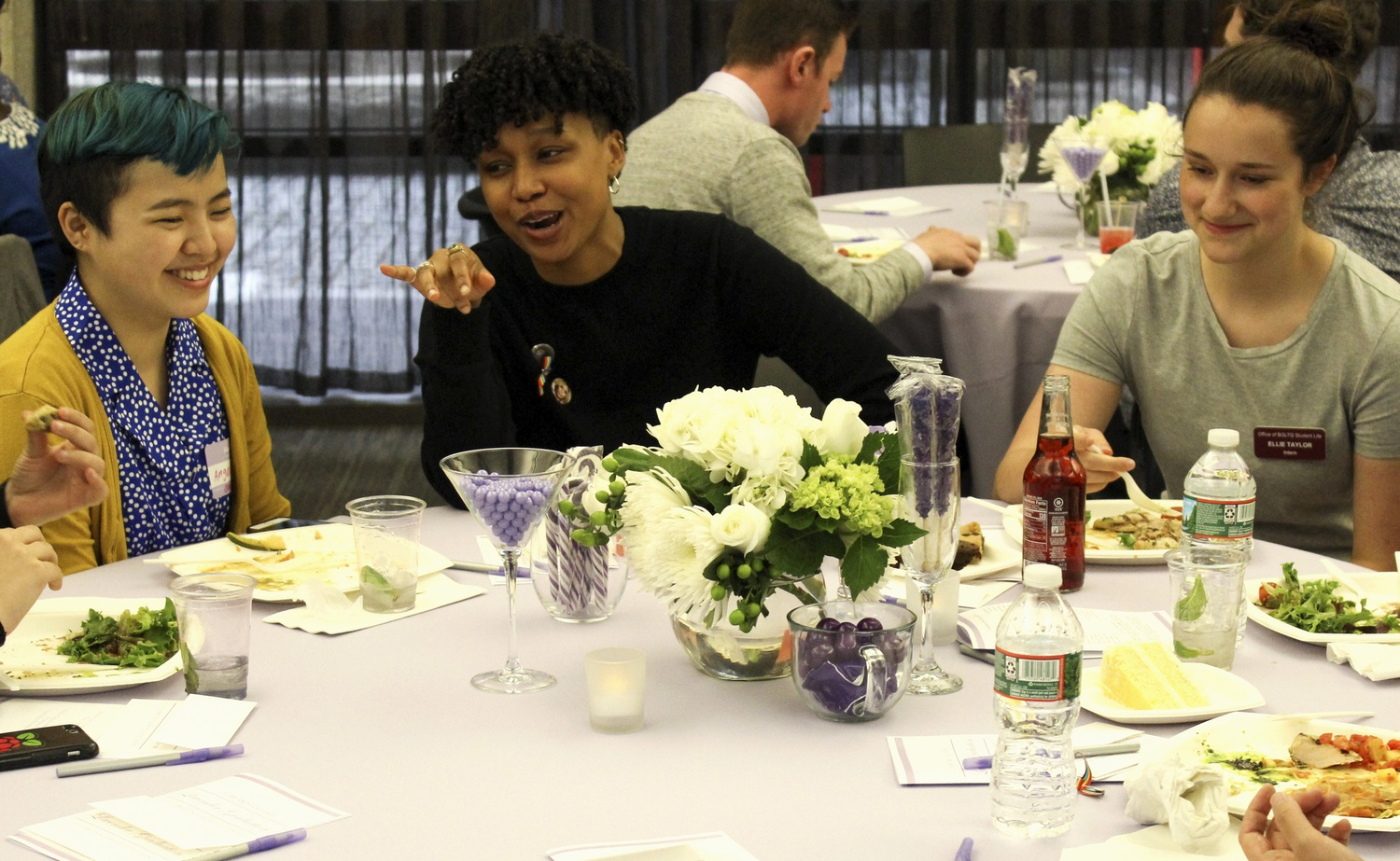 The College's annual Lavender Graduation honors BGLTQ seniors as they prepare for University-wide graduation at the end of May.