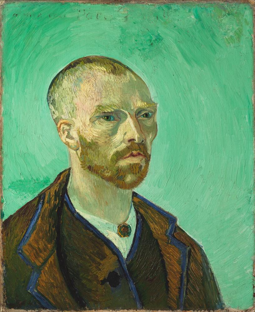 Vincent van Gogh, Self-Portrait Dedicated to Paul Gauguin, 1888. Oil on canvas.