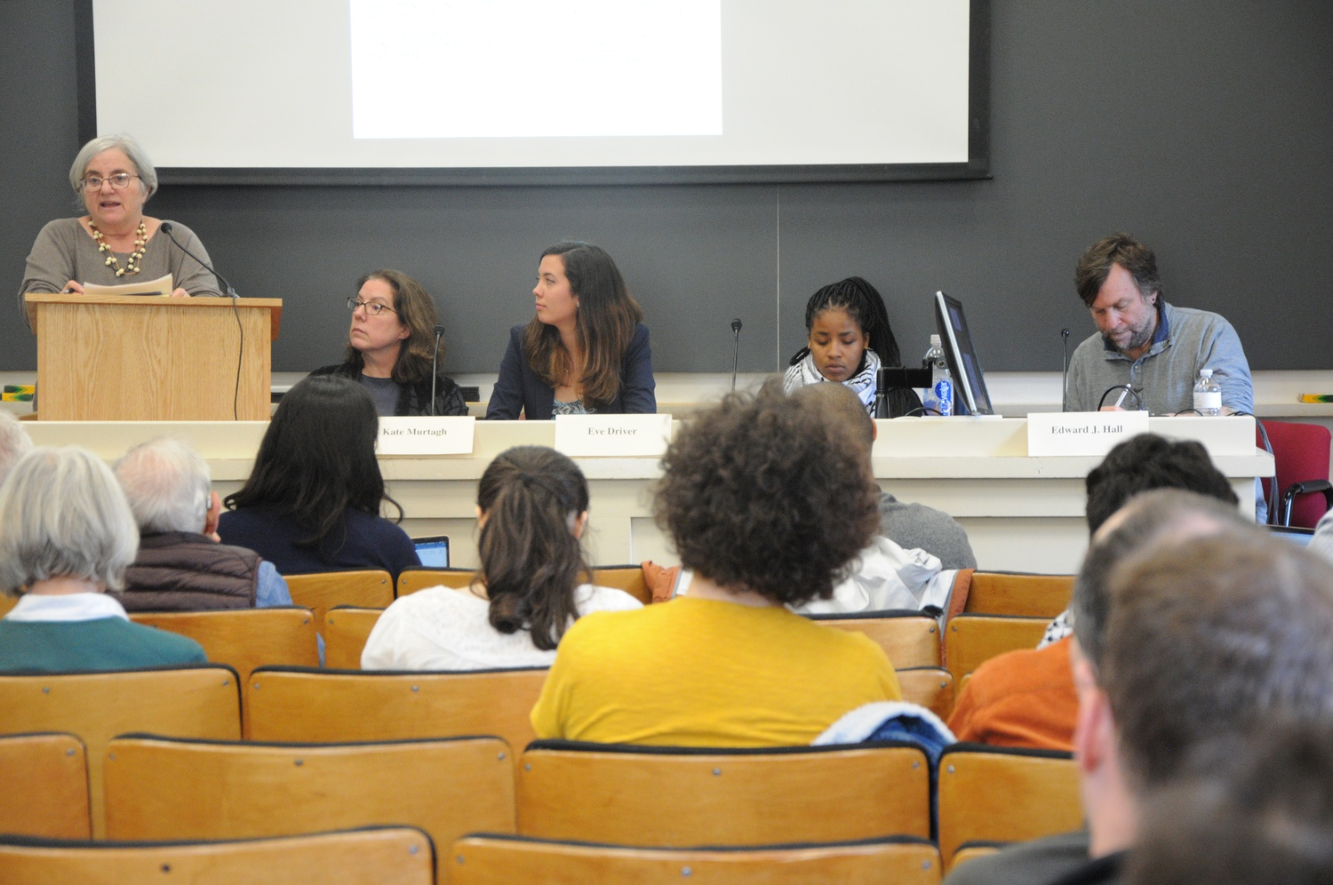 A panel on divestment, which included a Harvard Management Company executive, discussed divestment and compliance.