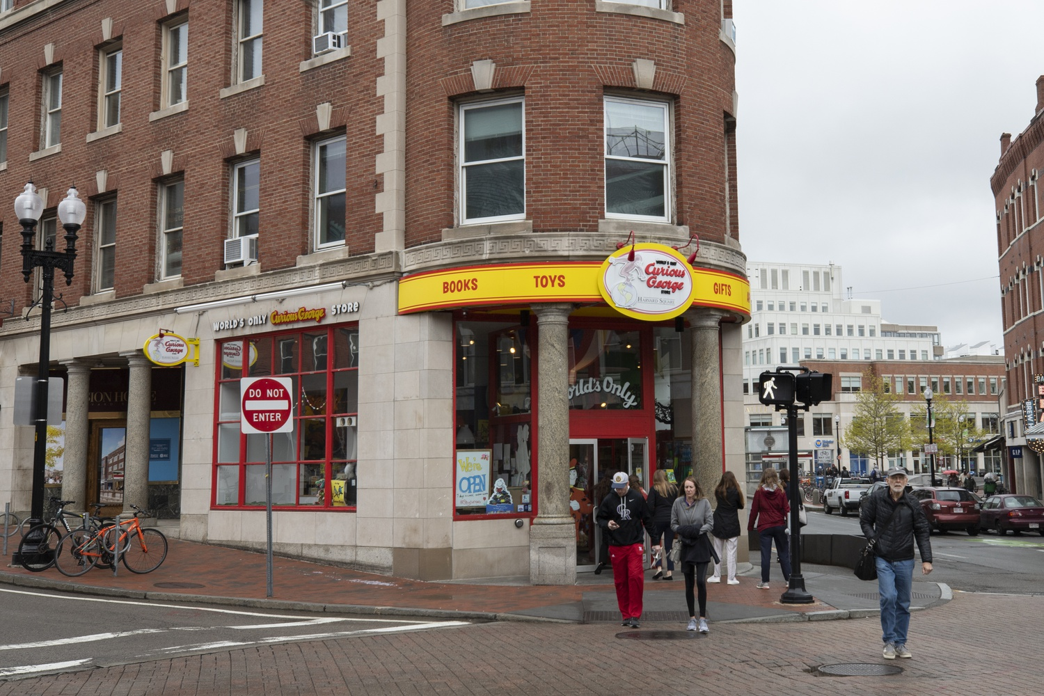 The Curious George Store in Harvard Square will soon relocate to a new location in Central Square.