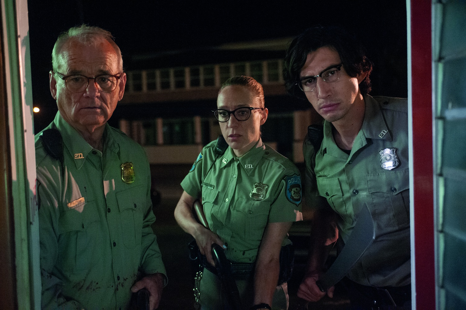 """Bill Murray, Chloë Sevigny, and Adam Driver star in """"The Dead Don't Die."""""""