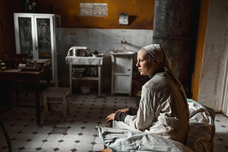 "Viktoria Miroshnichenko stars as Iya, the titular role, in ""Dylda"" (""Beanpole"")."