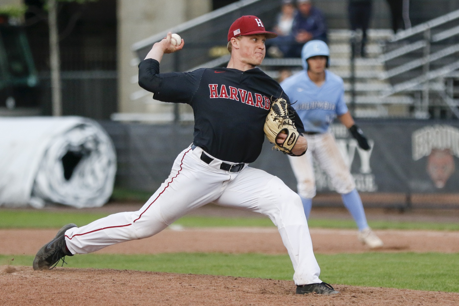 Junior reliever Kieran Shaw pitched three shutout innings to secure the victory on Sunday.