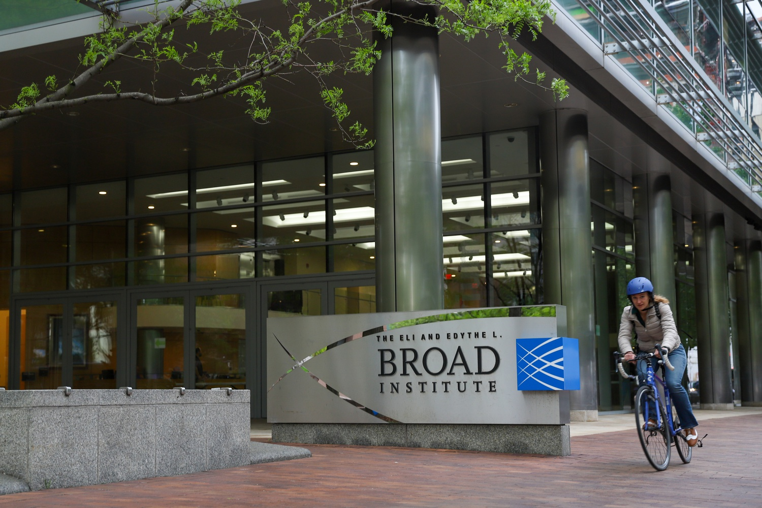 Located near Central Square, the Broad Institute is a center for biomedical and genomics research.