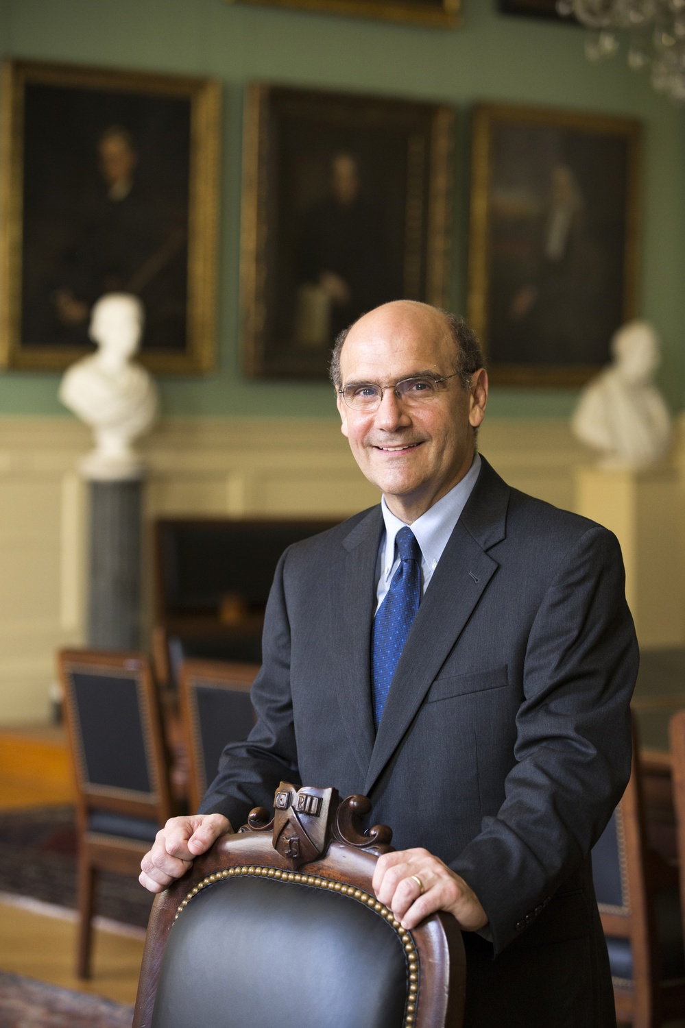 Robert W. Iuliano '83, Harvard's senior Vice President and General Counsel, oversees the University's legal strategy.