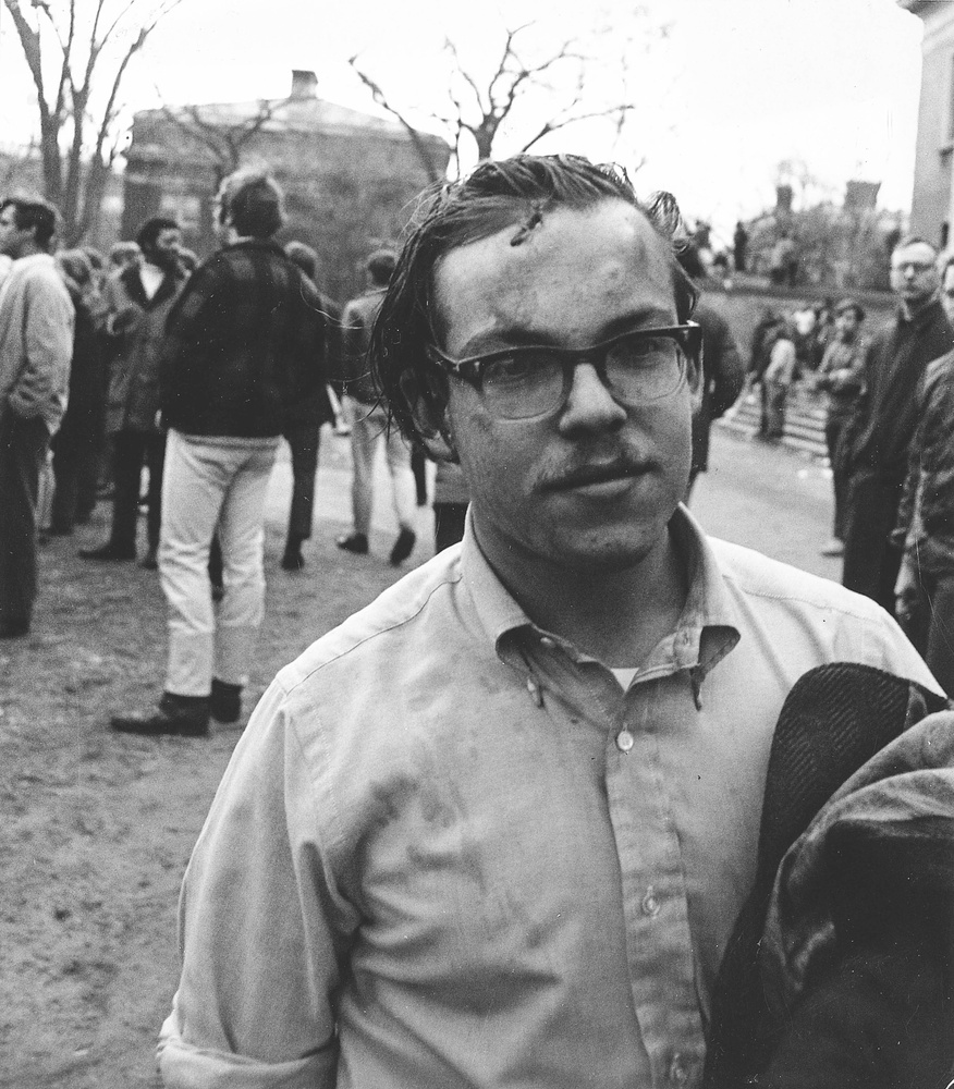 Police officers beat, forcibly removed, and arrested participants in the 1969 University Hall occupation.