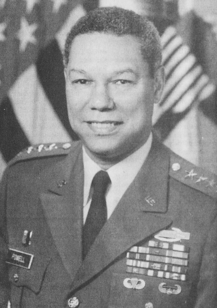 Gen. Colin L. Powell was the Commencement speaker for the Class of 1993.