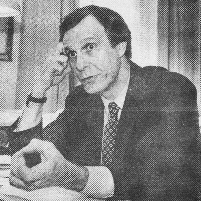 Former University President Neil L. Rudenstine appeared in a 1993 Crimson issue.