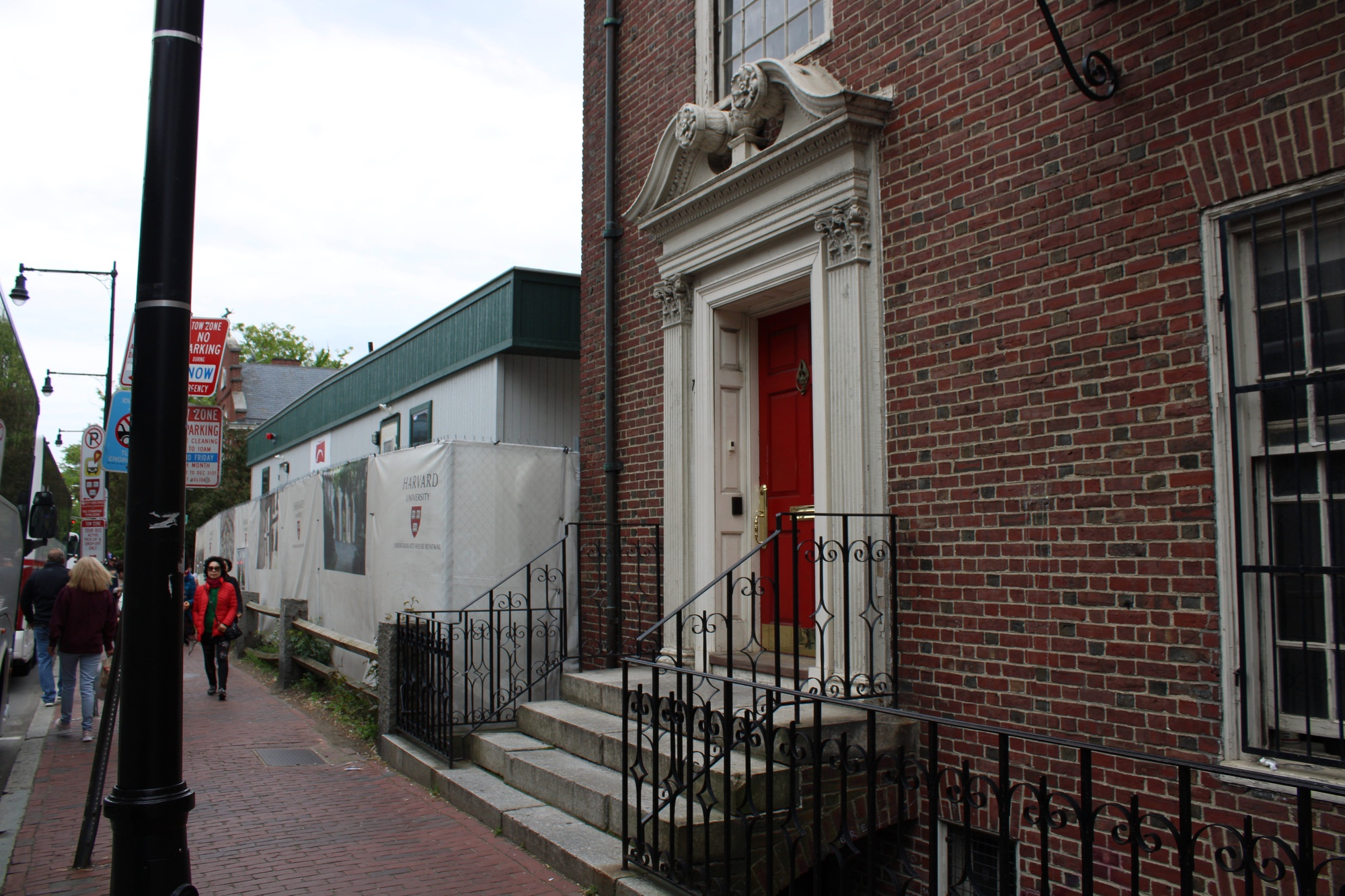 The Phoenix S.K. Club is one of several all-male final clubs located on Mount Auburn Street, just off of Harvard's campus.