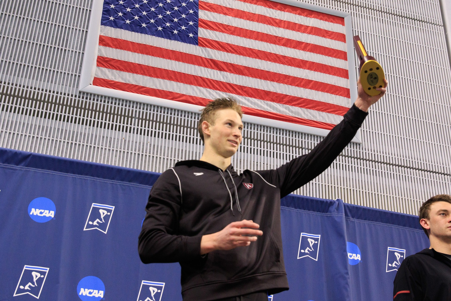 Dean Farris won two events in the NCAA Championships this season.