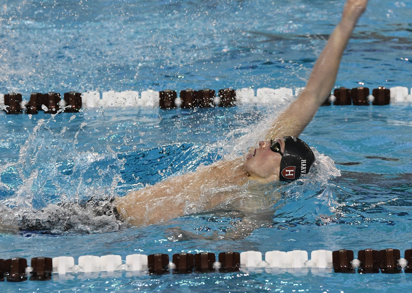 Farris has excelled in both the freestyle and backstroke throughout his collegiate career.