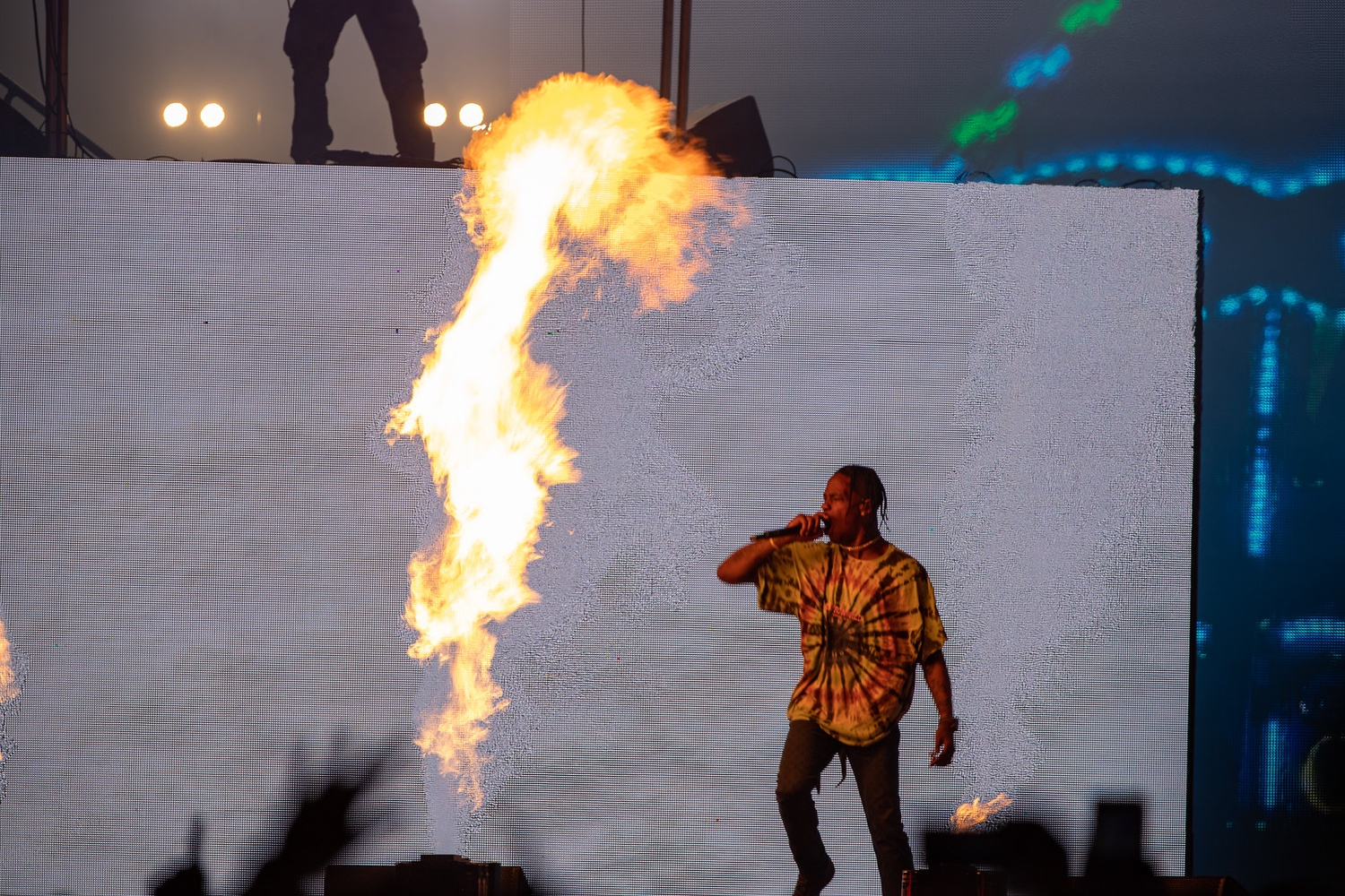 From Boston Calling 2019 Travis Scott Is The Highest In The Room Arts The Harvard Crimson The visuals for it was published the same day. from boston calling 2019 travis scott