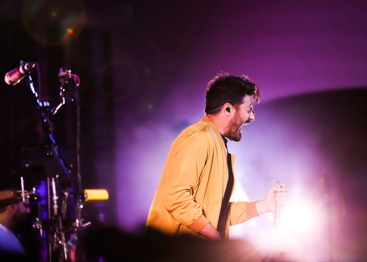 American rock band Young the Giant performed for an audience of thousands at Rockland Trust Bank Pavilion in June.