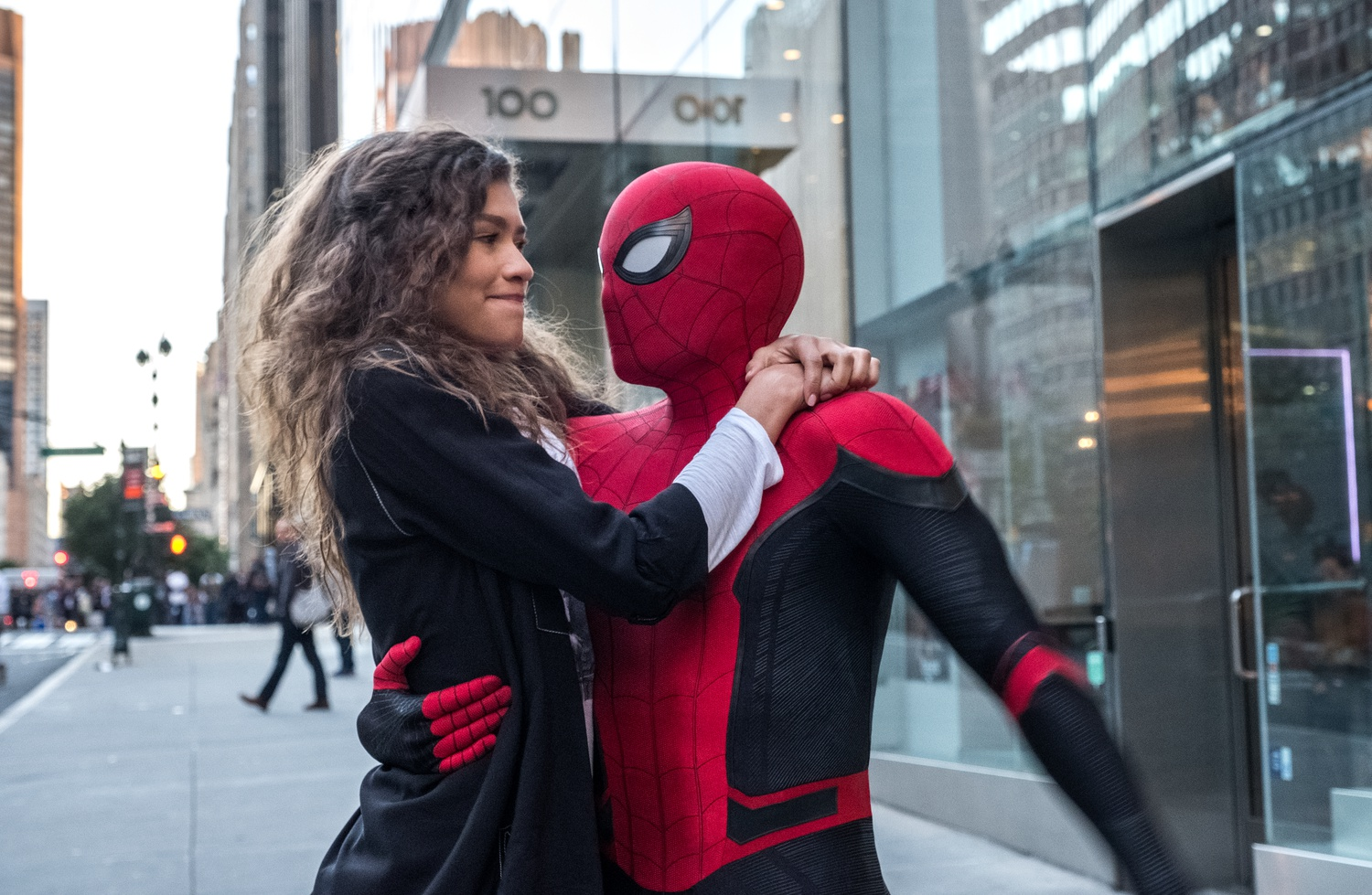 """Zendaya stars as MJ and Tom Holland stars as Peter Parker/Spider-Man in """"Spider-Man: Far From Home"""" (2019), directed by Jon Watts."""