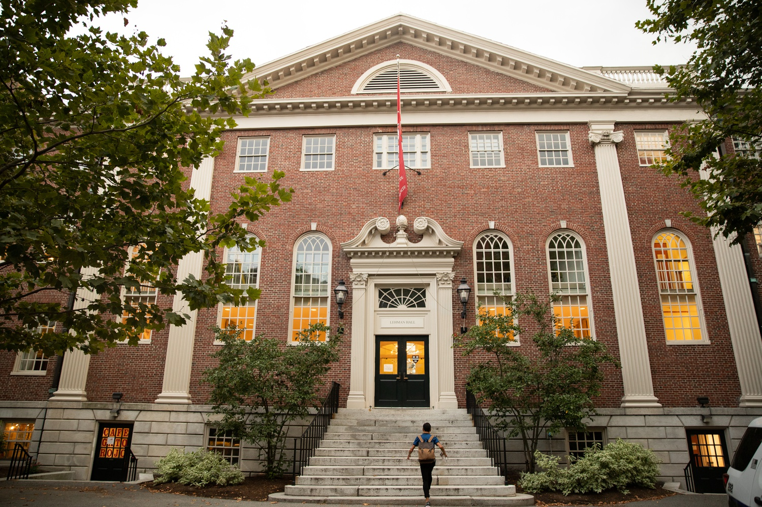 The GSAS Student Center is located in Harvard Yard.