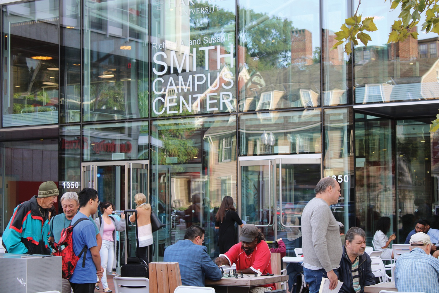 Police arrested a man in the Smith Campus Center shortly before noon on Thursday.