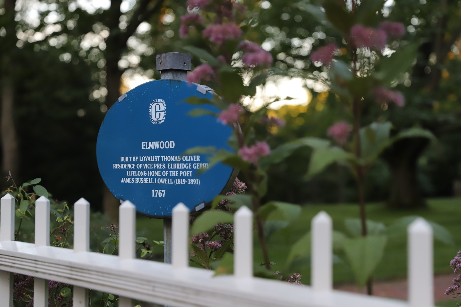 Harvard's presidents have resided at 33 Elmwood Avenue since 1971.