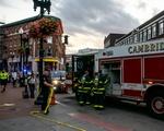 Police Shut Down Harvard Square