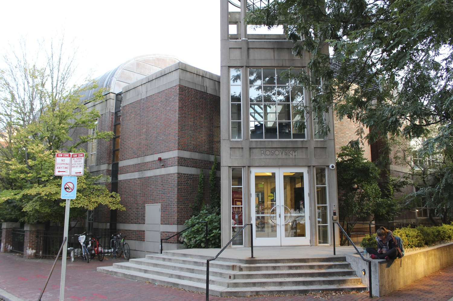 Convicted sex offender Jeffrey E. Epstein facilitated donations to build Rosovsky Hall, the Mount Auburn Street building that houses Harvard Hillel.