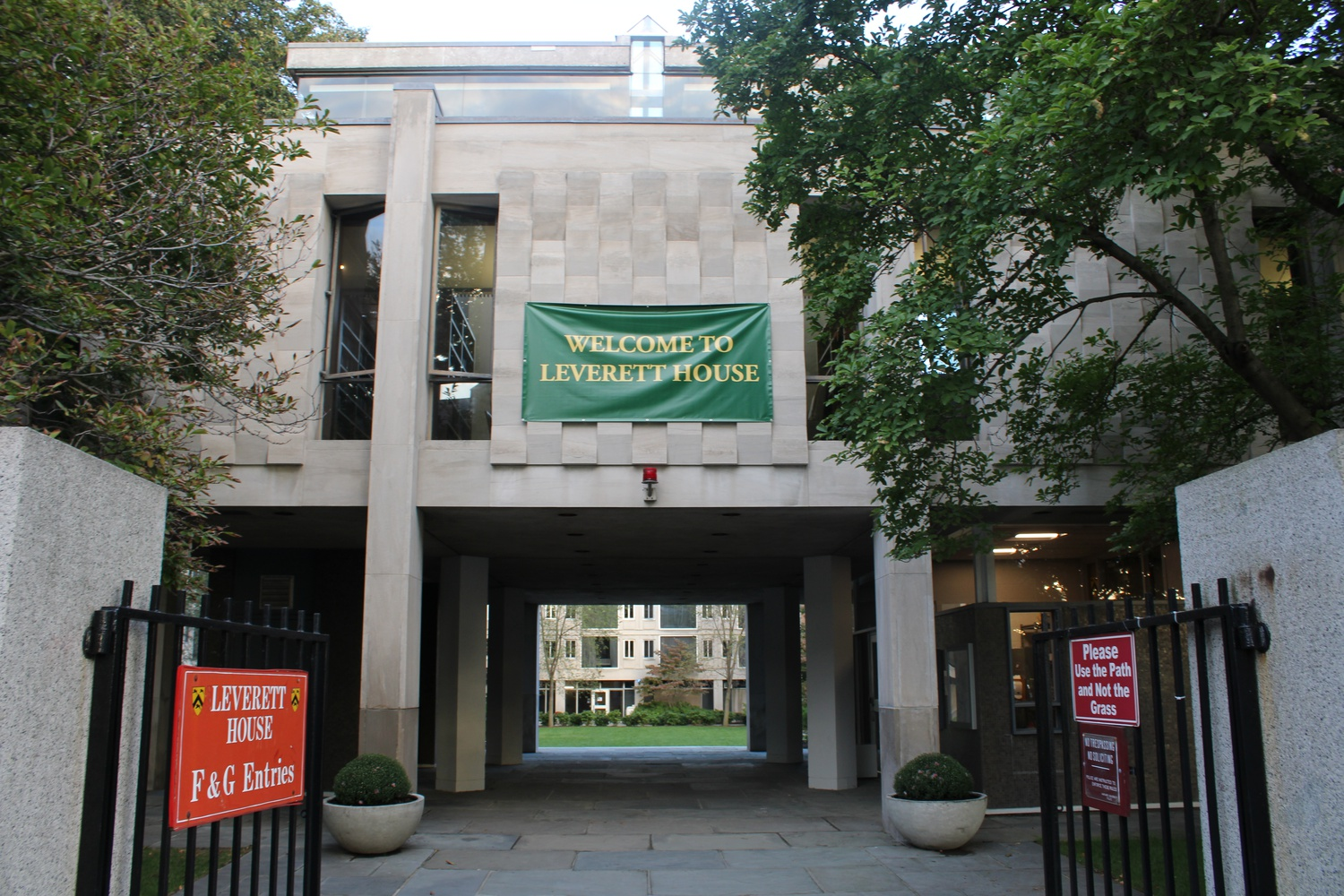 Leverett House is one of Harvard's twelve undergraduate houses.