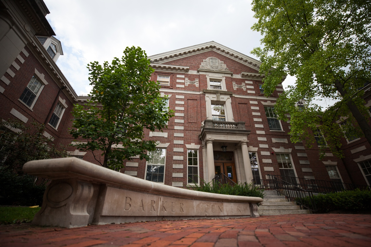 The Barker Center houses a host of departments, including History and Literature, African and African American Studies, and English.