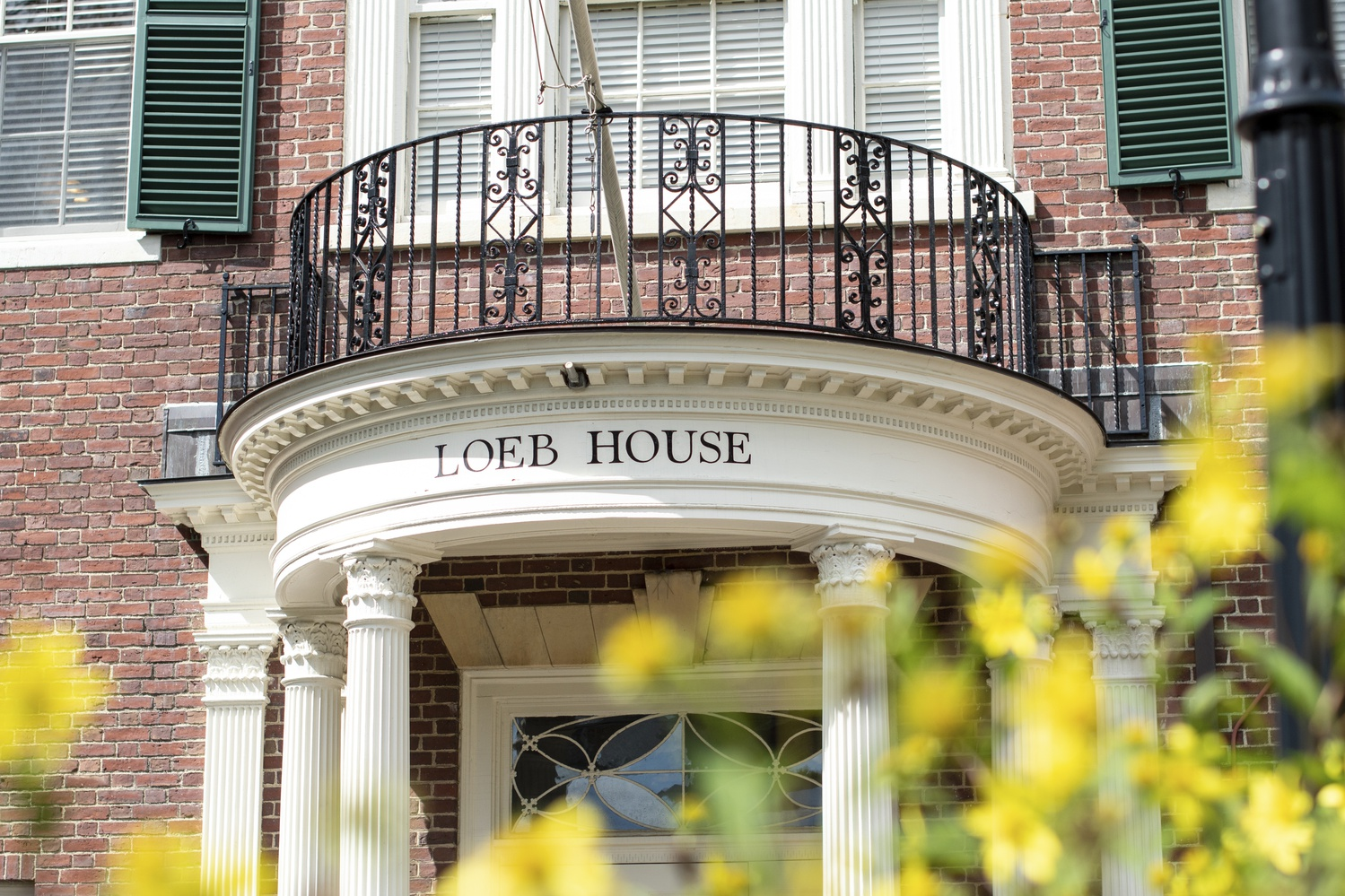 Loeb House is located at 17 Quincy Street and was the former home of Harvard Presidents. Today it houses Harvard's Governing Boards and their administrative offices.